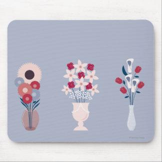 Tapis De Souris Fleurs