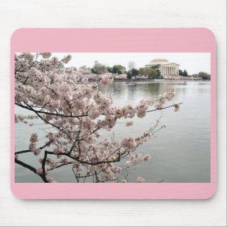 Tapis De Souris Fleurs de cerisier - mémorial de Jefferson
