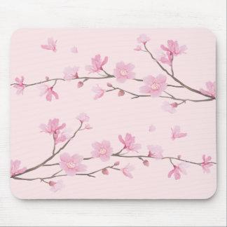 Tapis De Souris Fleurs de cerisier - rose