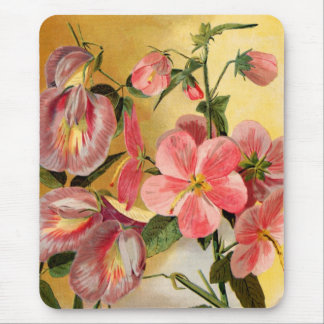 Tapis De Souris Fleurs de pois doux