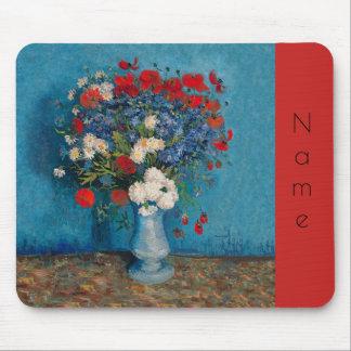 Tapis De Souris Fleurs de Van Gogh et d'Elizabeth -