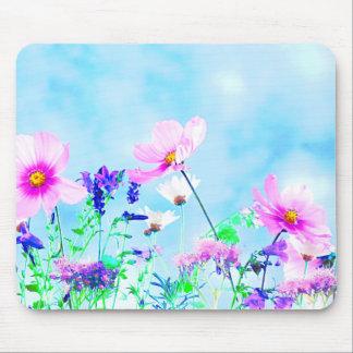 Tapis De Souris Fleurs sauvages en nature
