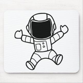 Tapis De Souris Flottement d'astronaute