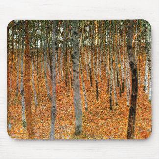 Tapis De Souris Forêt de hêtre par Gustav Klimt