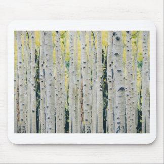 Tapis De Souris Forêt de trembles - peinte