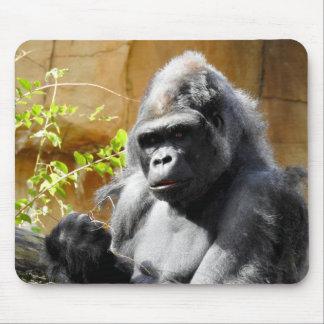 Tapis De Souris Foyer de gorille