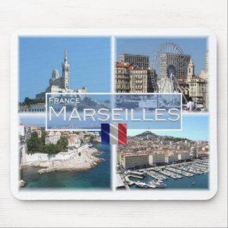 Tapis De Souris Franc France - Marseille - Notre Dame De Garde