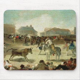 Tapis De Souris Francisco Jose de Goya | une corrida de village