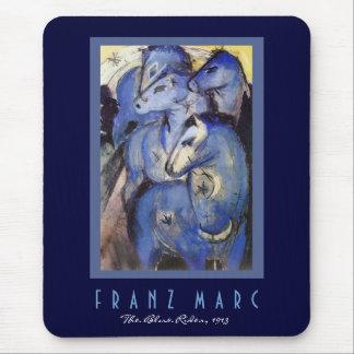 Tapis De Souris Franz Marc - le cavalier bleu - art