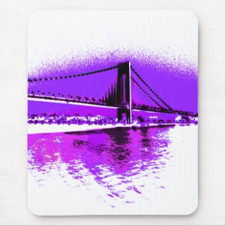 Tapis De Souris Fuschia rétrécit le mousepad de pont