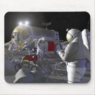 Tapis De Souris Futures missions 11 d'exploration d'espace