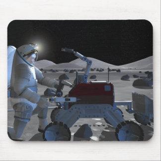Tapis De Souris Futures missions 7 d'exploration d'espace