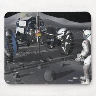 Tapis De Souris Futures missions d'exploration d'espace