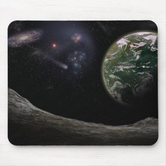Tapis de souris Galaxie