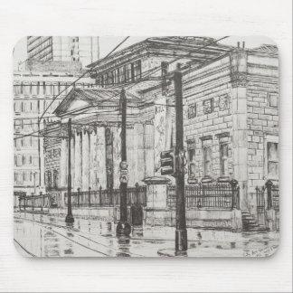 Tapis De Souris Galerie d'art de ville Manchester. 2007