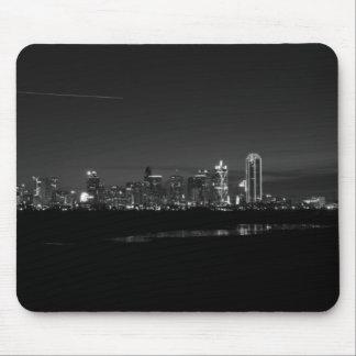 Tapis De Souris Gamme de gris de Pano d'aube d'horizon de Dallas