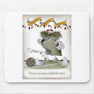 Tapis De Souris gardien de but allemand vintage