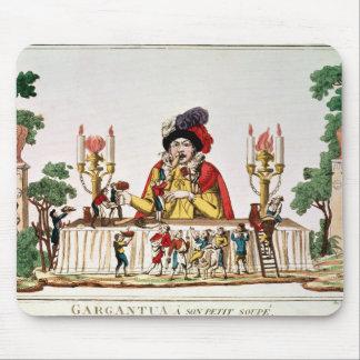 Tapis De Souris Gargantua à son petit dîner, c.1800