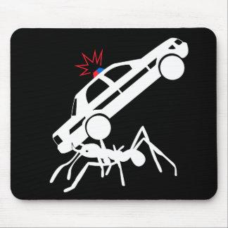 Tapis de souris géant d'attaque de fourmi