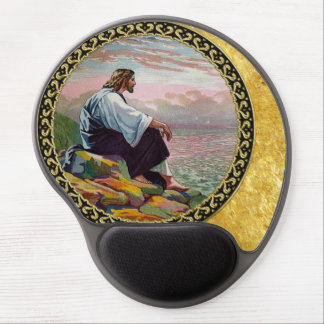 Tapis De Souris Gel 14h22 de Matthew - 23 Jésus prie seul par la mer
