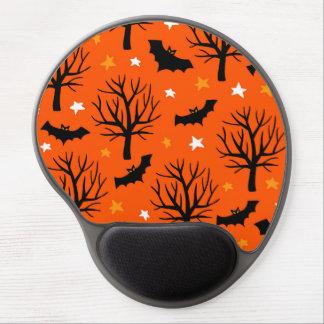 Tapis De Souris Gel Arbre éffrayant de Halloween avec des battes et
