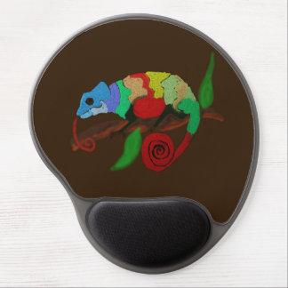Tapis De Souris Gel Art coloré Mousepad de caméléon