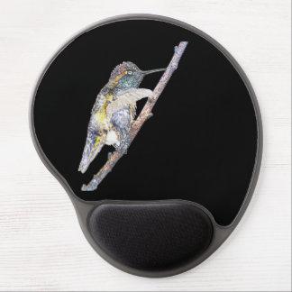 Tapis De Souris Gel Art de photo de Mousepad du colibri d'Anna