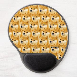Tapis De Souris Gel Bande dessinée de doge - texture de doge - shibe -