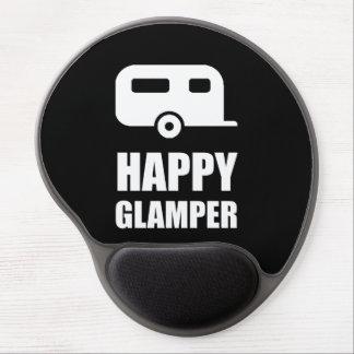 Tapis De Souris Gel Campeur heureux de Glamper