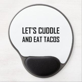 Tapis De Souris Gel Caressez et mangez les tacos