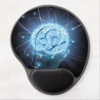 Tapis De Souris Gel Cerveau atomique