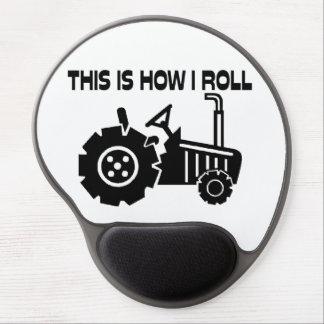 Tapis De Souris Gel C'est comment je roule le tracteur de ferme