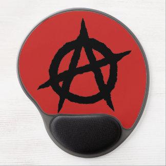 Tapis De Souris Gel Chaos punk de signe de culture de musique de noir