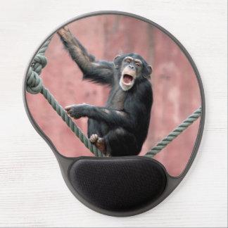 Tapis De Souris Gel Chimpanzé 001