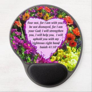 TAPIS DE SOURIS GEL CONCEPTION FLORALE DE JOLI 41:10 D'ISAÏE