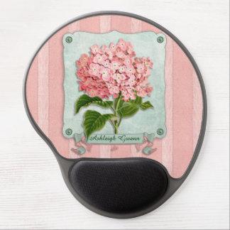 Tapis De Souris Gel Coupes-circuit roses de papier rayé de ruban de