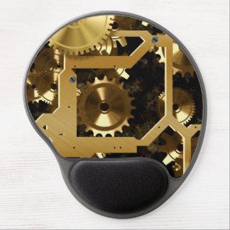 Tapis De Souris Gel Dents d'or et vitesses 3 dimensionnelles