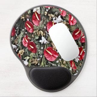 Tapis De Souris Gel disposition florale extraordinaire de Noël