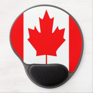 Tapis De Souris Gel Drapeau du Canada