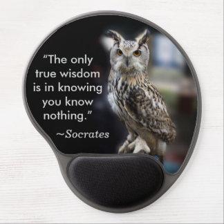 Tapis De Souris Gel Duc de citation de Socrates