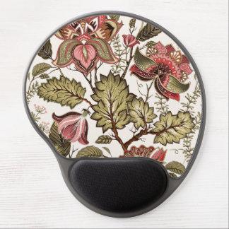 Tapis De Souris Gel Fleur vintage rustique de Paisley sur l'arrière -