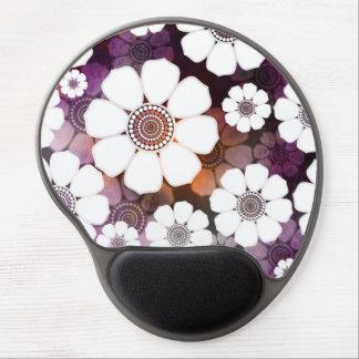 Tapis De Souris Gel Flower power pourpre génial