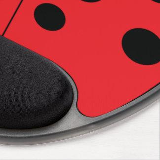 Tapis De Souris Gel Gel moderne Mousepad de coccinelle