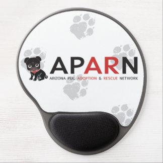 Tapis De Souris Gel Gel Mousepad de logo d'APARN