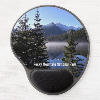 Tapis De Souris Gel Gel Mousepad de parc national de montagne rocheuse