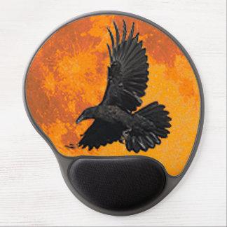Tapis De Souris Gel Gel Mousepad du cadeau de Raven