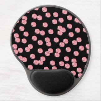 Tapis De Souris Gel Gel rouge Mousepad de pois