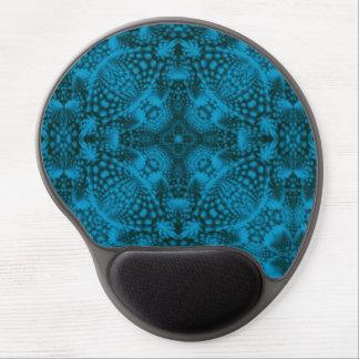 Tapis De Souris Gel Gel vintage noir et bleu   Mousepad de