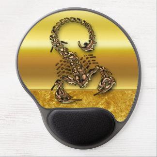Tapis De Souris Gel Insecte très venimeux toxique en bronze de