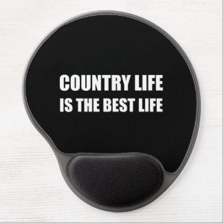 Tapis De Souris Gel La meilleure vie de vie à la campagne